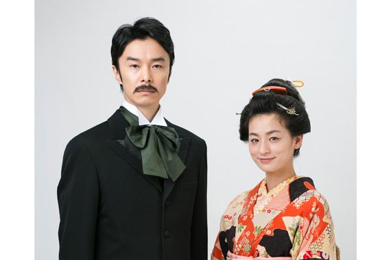 NHK土曜ドラマ9月尾野真千子×長谷川博己主演:「夏目漱石の妻」