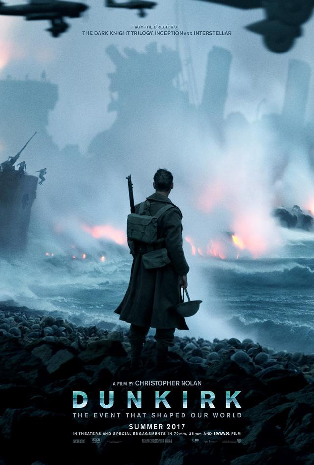 映画「ダンケルク」ポスター公開!製作に影響を受けた名作も発表