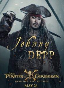 ジョニー・デップ:ジャック・スパロウ