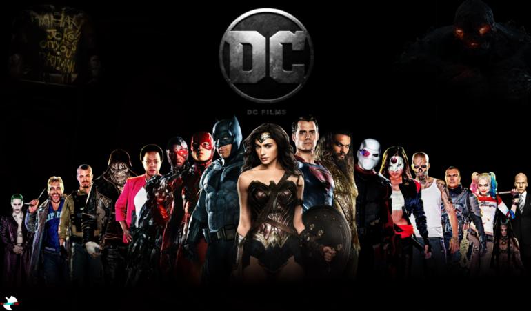 「DCエクステンデッド・ユニバース」シリーズの作品リスト