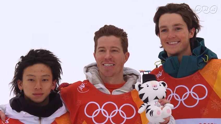 平野歩夢選手 銀メダル