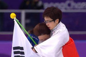 小平奈緒、李相花の友情