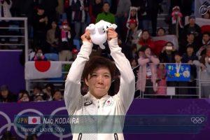 小平奈緒、金メダル