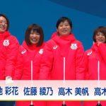 女子団体パシュート 金メダル