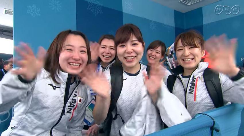 カーリング女子日本代表 銅メダル