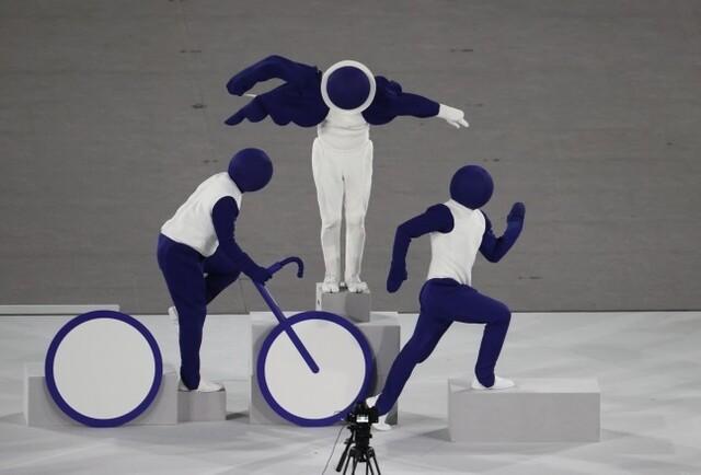 東京オリンピック開会式のピクトグラムが話題に