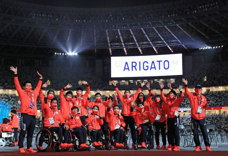 東京パラリンピック2020閉幕【ARIGATO】